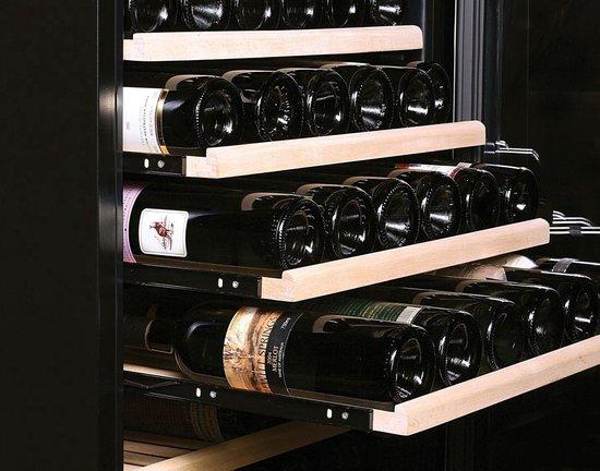 Bol Com Temptech Obiu60dbb Wijnkoelkast 46 Bordeaux Flessen Nisbreedte 60cm Zwart