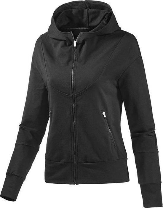 bol.com | Adidas Hooded TT - Adidas Dames Vest - Zwart ...