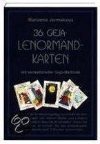36 Geja Lenormandkarten. Buch