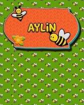 Handwriting Practice 120 Page Honey Bee Book Aylin