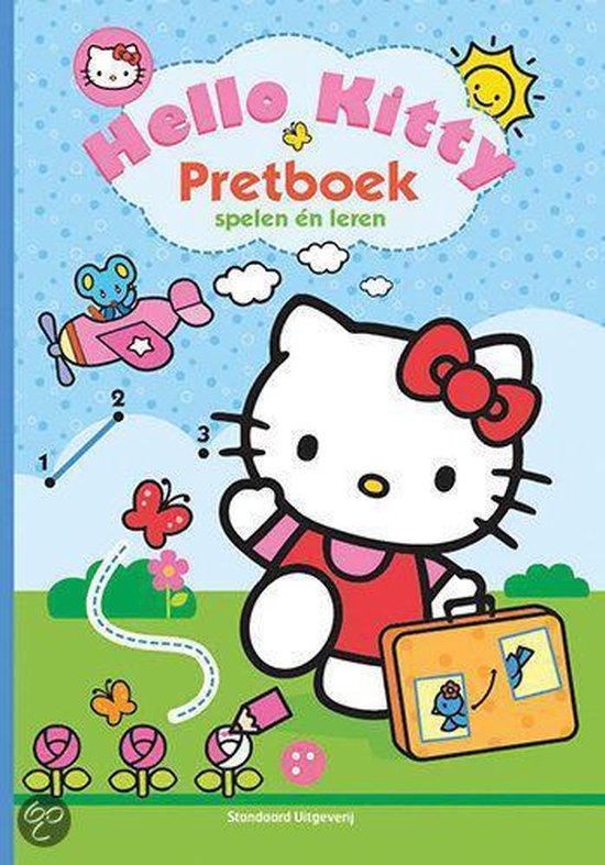 Hello Kitty Pretboek