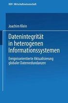 Datenintegritat in Heterogenen Informationssystemen