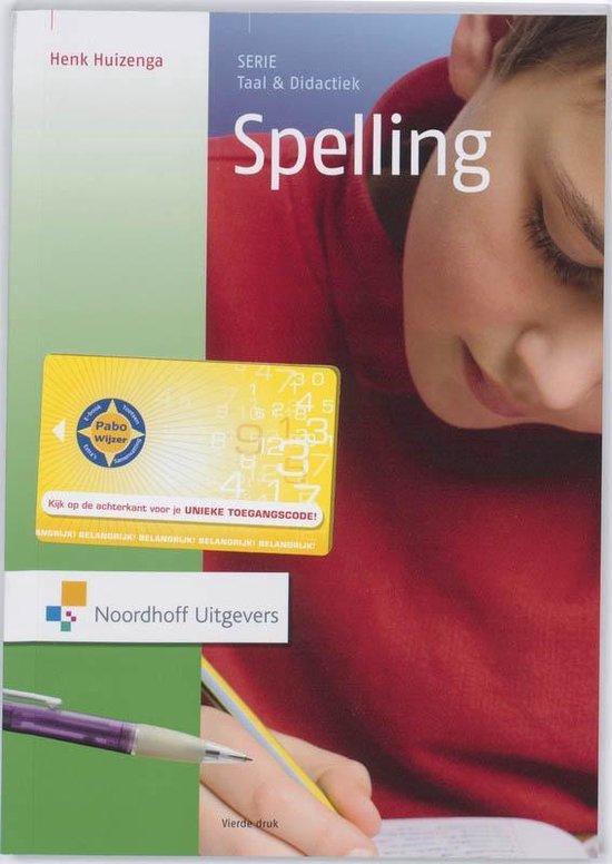 Spelling - Henk Huizenga pdf epub