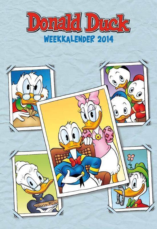 Cover van het boek '*WEEKKALENDERS 2014 DONALD DUCK'