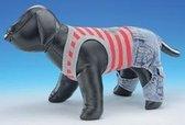 Nobby t-shirt met broek hond - blauw - 30 cm