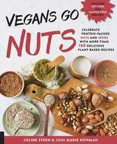 Boekomslag van 'Vegans Go Nuts'