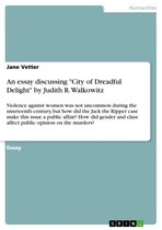 An essay discussing 'City of Dreadful Delight' by Judith R. Walkowitz