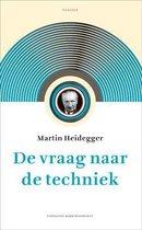 Boek cover De vraag naar de techniek van Martin Heidegger