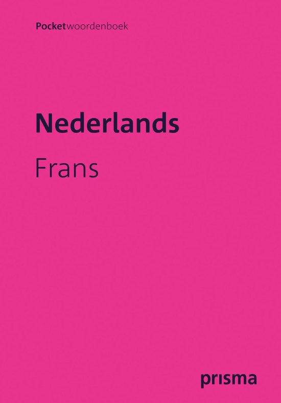 Boek cover Prisma Pocket Woordenboek Nederlands-Frans van H.W.J. Gudde (Paperback)