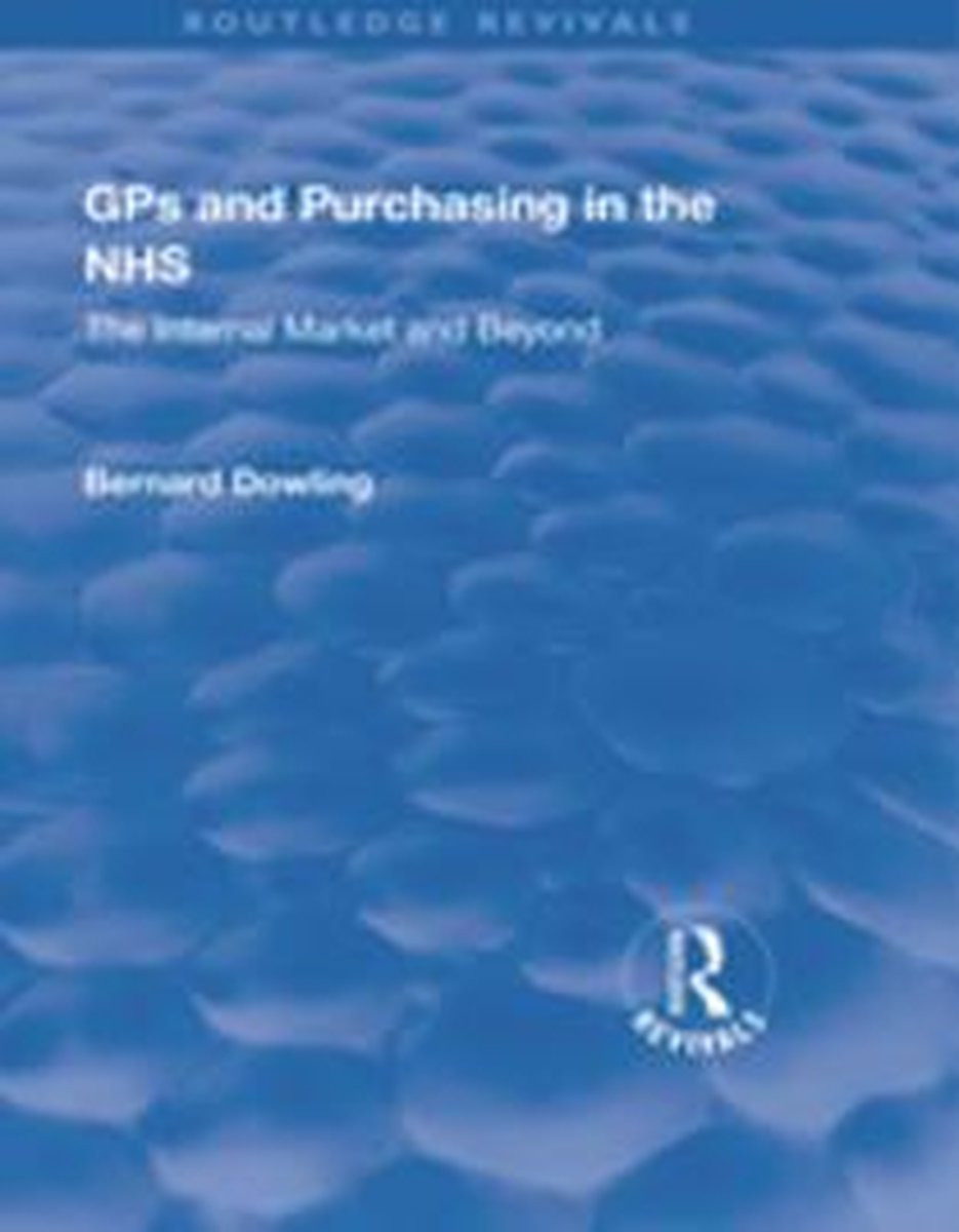 GPs and Purchasing in the NHS
