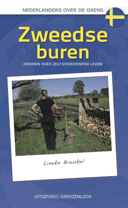 Boek cover Nederlanders over de grens - Zweedse buren van Lineke Breukel (Paperback)