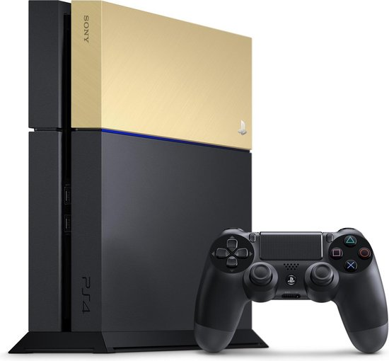 Sony PlayStation 4 Faceplate - Gold - PS4 - Sony