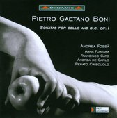 Sonatas For Cello And B.C. Op.1