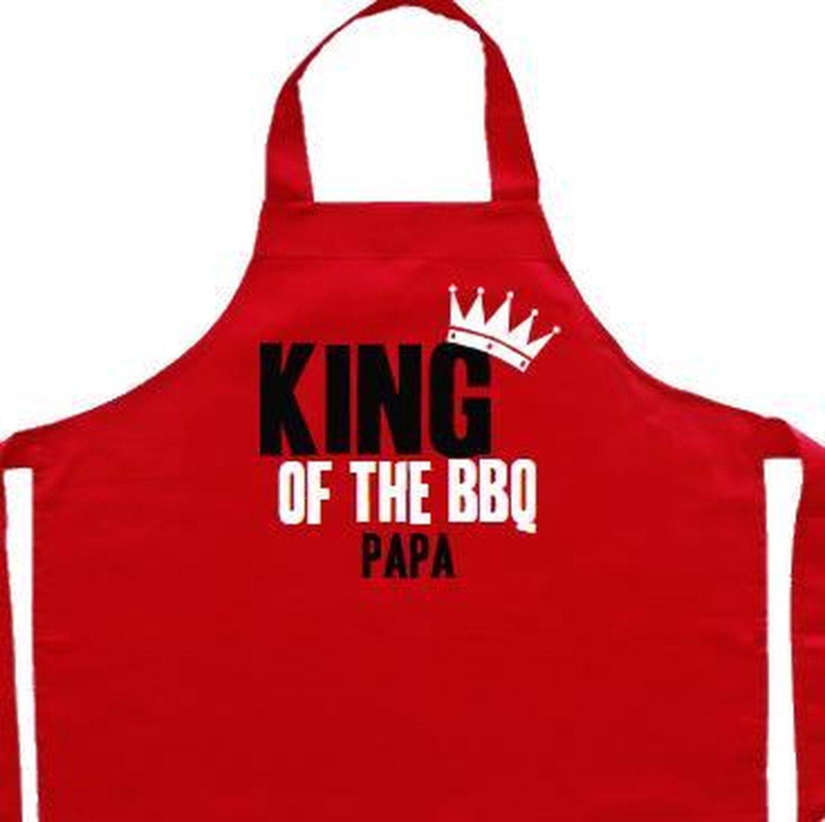 Vaderdag kookschort | rood, King of the BBQ