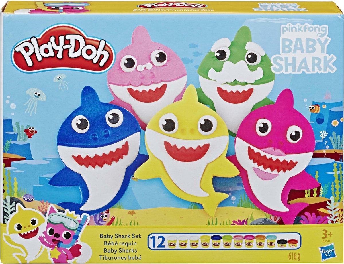 Play-Doh Baby Shark - Klei Speelset