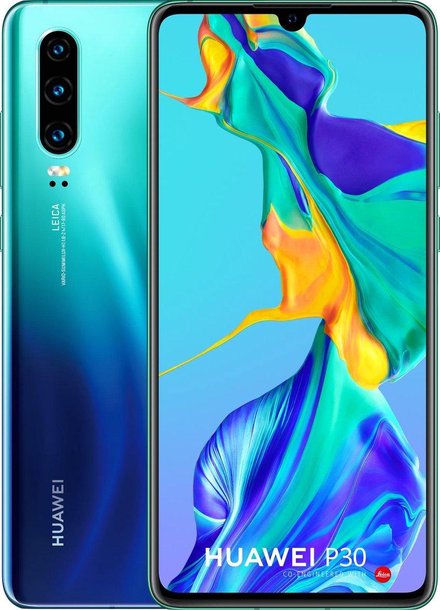 Huawei P30 – 128GB – Twilight Blauw (Aurora)