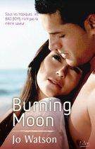 Omslag Burning moon