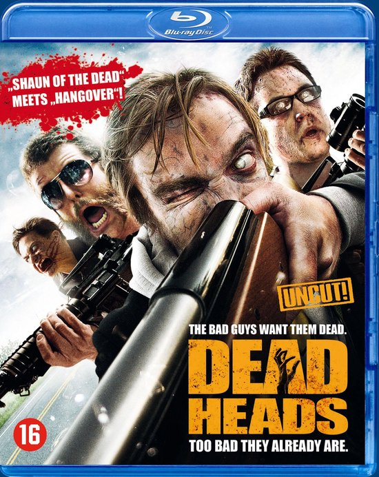 Cover van de film 'Deadheads'