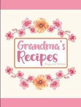 Grandma's Recipes Dogwood Edition
