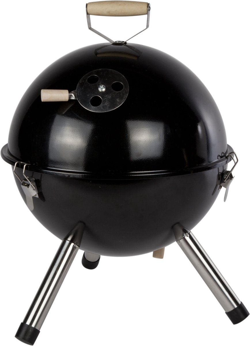 Cosy&Trendy BBQ tafelmodel Ø 30 cm - Zwart