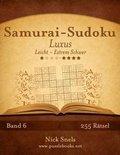 Samurai-Sudoku Luxus - Leicht Bis Extrem Schwer - Band 6 - 255 R tsel