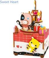 Robotime Muziekdoos 3D Houten Puzzel, Happy Birthday
