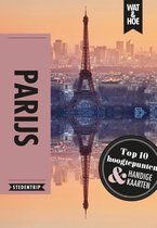 Boek cover Wat & Hoe Reisgids  -   Parijs van Wat & Hoe Stedentrip (Paperback)