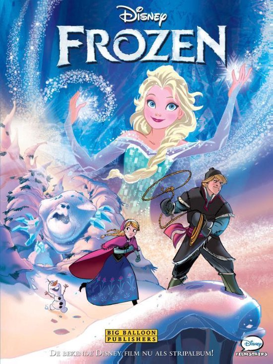 Disney Frozen stripalbum - none pdf epub
