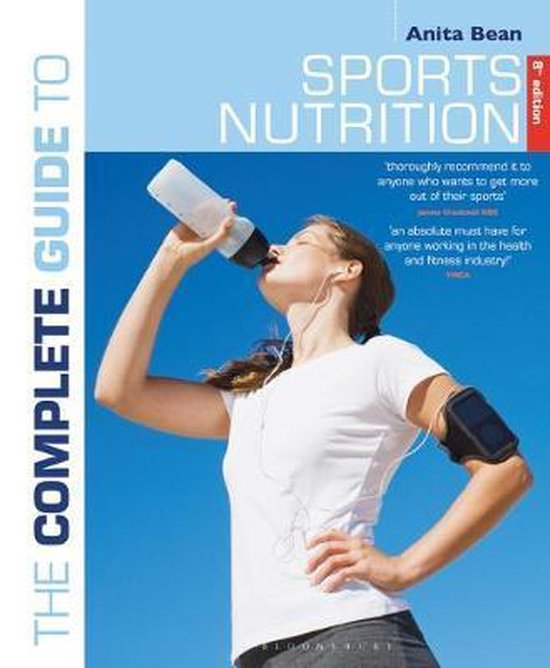 Boek cover The Complete Guide to Sports Nutrition van Ms Anita Bean (Paperback)