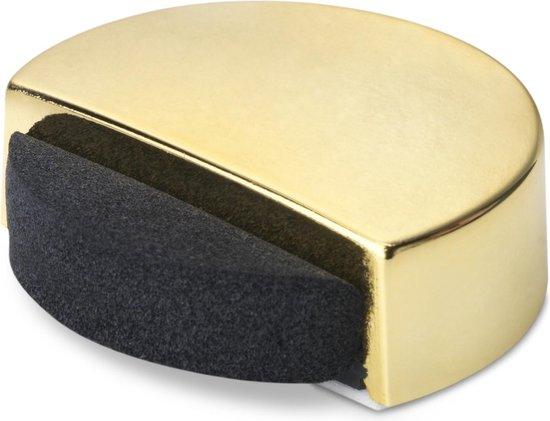 Deurstop geluiddempend/ zelfklevend - Goud gelakt (voor deuren zonder drempels)