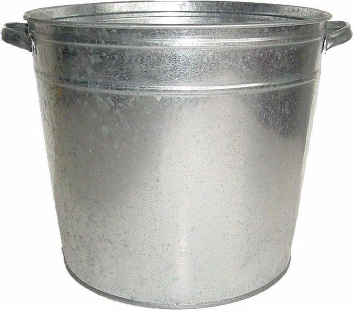 Drankkoeler - 37 liter - Zink/zilver - Merkloos