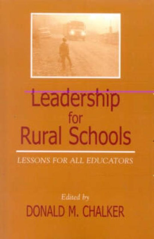Boek cover Leadership for Rural Schools van Donald M. Chalker (Paperback)