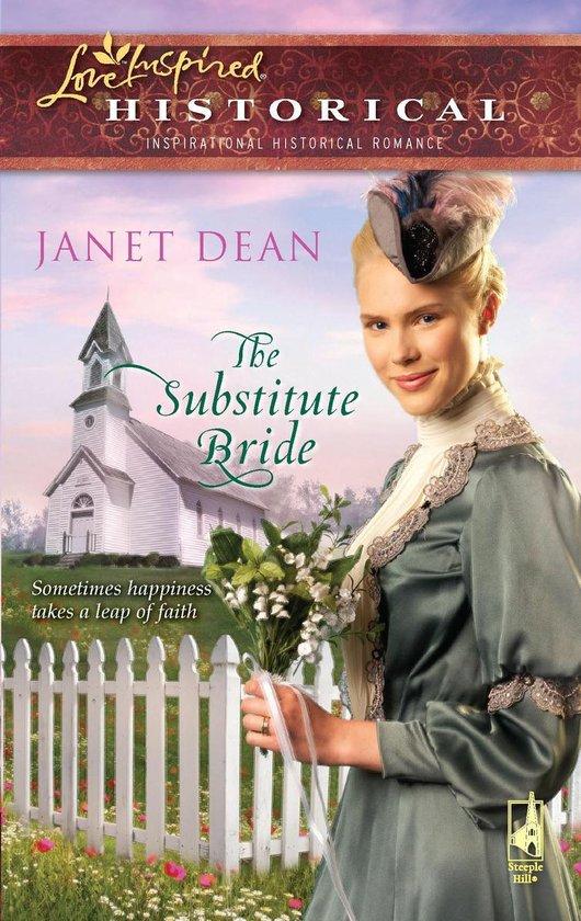 Boek cover The Substitute Bride van Janet Dean (Onbekend)