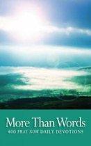 Boek cover More Than Words van Church Of Scotland