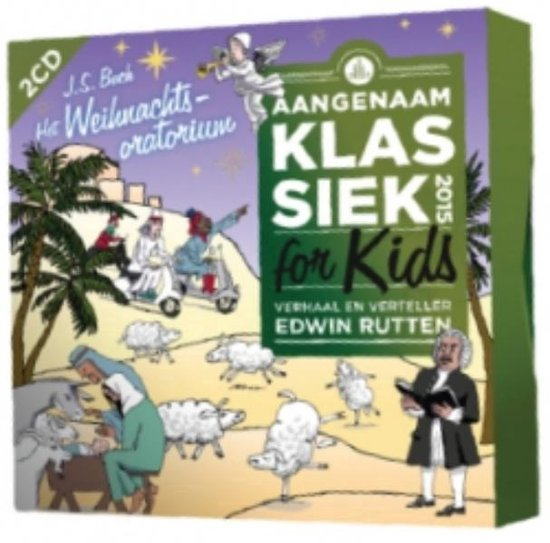 CD cover van Klassiek For Kids 2015 van Aangenaam Klassiek For Kids
