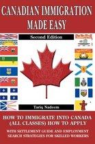 Boek cover Canadian Immigration Made Easy - 2nd Edition van Tariq Nadeem