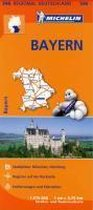 Michelin Regionalkarte Bayern 1 : 375 000