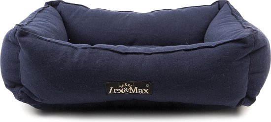 Lex & Max Tivoli Kattenmand - Indigoblauw - 40 x 50 cm