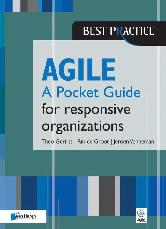 Boek cover Agile for Responsive Organizations van Theo Gerrits (Hardcover)