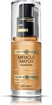Max Factor Miracle Match Shade Matching Liquid Foundation - 077 Soft Honey