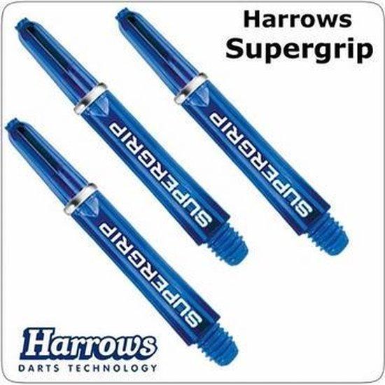 Afbeelding van het spel Harrows Supergrip Short Blue  Set 3 stuks