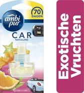 Ambi Pur Car Exotische Vruchten Navulling - 7 ml - Luchtverfrisser