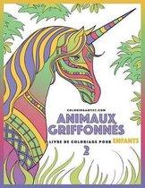Livre de Coloriage Pour Enfants Animaux Griffonn s 2