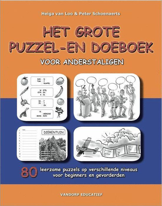 Afbeelding van Het grote puzzel- en doeboek voor anderstaligen