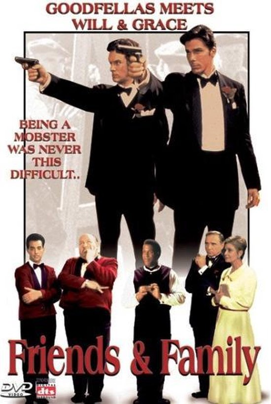 Cover van de film 'Friends & Family'