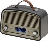 Denver DAB-38 - DAB+/FM radio met alarmklok functie - Grijs