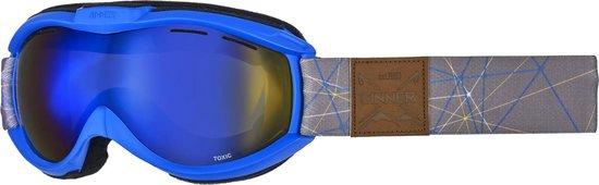 Sinner Toxic - Skibril - Volwassenen - Blauw
