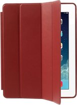 Shop4 - iPad 2 / iPad 3 / iPad 4 (2011-2012) Hoes - Smart Book Case Lychee Rood