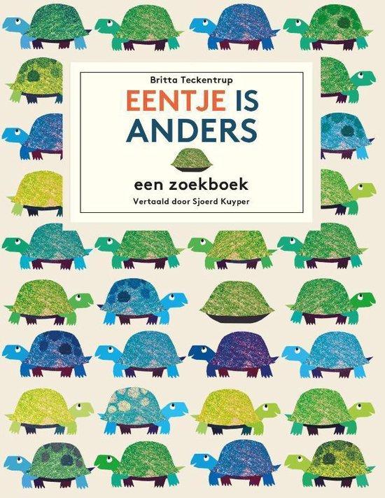 Boek cover Eentje is anders van Britta Teckentrup (Hardcover)