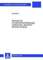 Rechtsschutz Im Arbeitnehmerbeteiligungsverfahren Der deutschen Societas Europaea